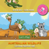 Australian Wildlife Theme PowerPoint Game