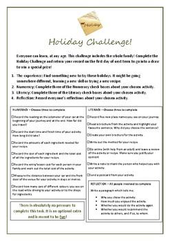 Australian School Holiday Student Challenge