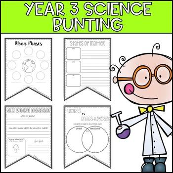 Australian Year 3 Science Bunting