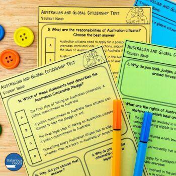 Australian and Global Citizenship Unit Assessment (Year 6 HASS)