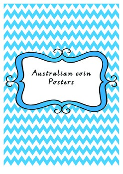 Australian coin posters