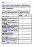 Australian curriculum year 4 student assessment checklist