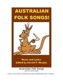 Australian folk songs - Lyrics and Sheet Music!
