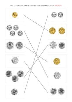 Australian money matching activity