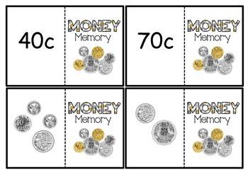 Australian money memory