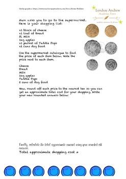 Australian money task
