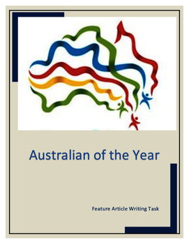 Australian of the Year Feature Article Writing