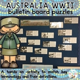 Australian's at War: World War II Vocabulary Bulletin Board