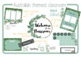 Australian theme, Australian classroom,Classroom decor, eucalyptus classroom dec