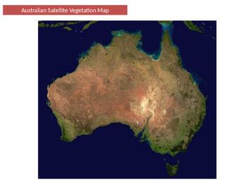 Australian vegetation areas and native animals