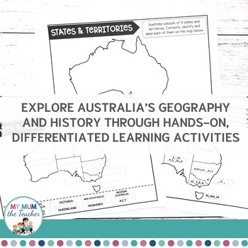 Exploring Australia Activity Pack