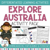 Exploring Australia Activity Pack