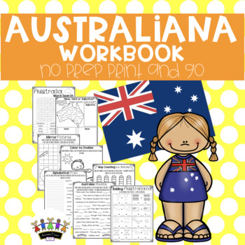 Australiana No Prep Print and Go