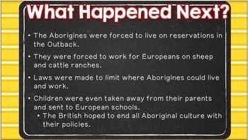 Australia's Aborigines (SS6H8 and SS6H9)