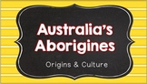 Australia's Aborigines (SS6H8 and SS6H9)