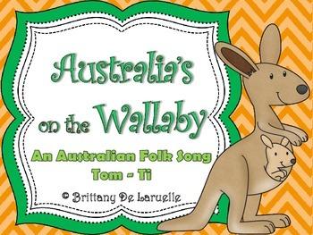 Australia's on the Wallaby - Australian Folk Song - Tom ti