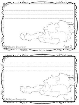 Austria Booklet Country Study Project Unit