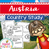 Austria Country Study 48 Pages for Differentiated Learning