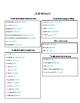 Auténtico 1 - 7B Qué regalo! vocabulary list