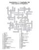 Auténtico 1 Chapter 3 Vocabulary Crosswords