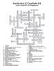 Auténtico 2 Chapter 1 vocabulary crosswords