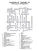 Auténtico 2 Chapter 3 vocabulary crosswords