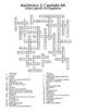 Auténtico 2 Chapter 6 vocabulary crosswords