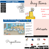 Autentico/Realidades 1 Chapter 2B/ School objects and plac