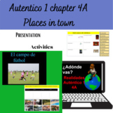 Autentico /Realidades 1 Chapter 4 A Vocabulary and Activities