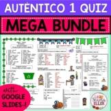 Auténtico Realidades 1 Vocab List Quiz MEGA BUNDLE Print D