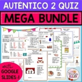 Auténtico Realidades 2 Vocab List Quiz MEGA BUNDLE Print D