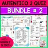Auténtico Realidades 2 Vocab List Quiz BUNDLE # 2 Print Di