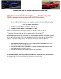 Authentic Assessment for Calculus (Derivatives & Integrals)