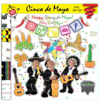 Authentic Cinco de Mayo Clip Art