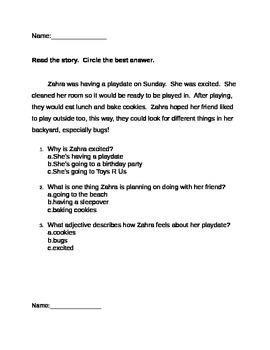 Authentic ELA Homework