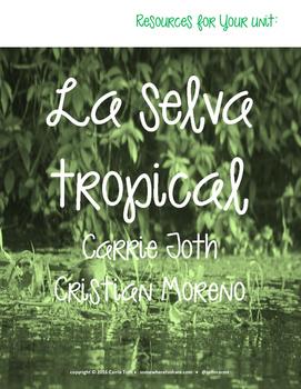 Authentic Listening Resources La selva tropical