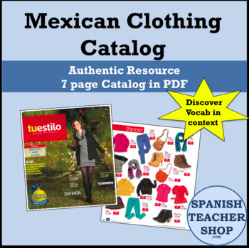 Authentic Mexican Catalog for Clothing