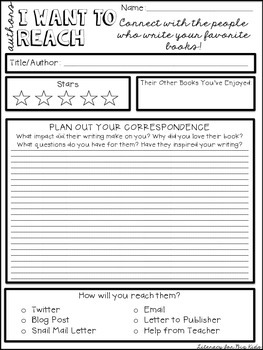 Authentic Reading Responses (Blog, Tweet, Write and Review what you read!)