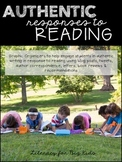 Authentic Reading Responses (Blog, Tweet, Write and Review