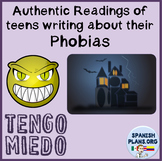 Authentic Reading for Spanish on Fears and Fobias