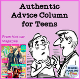 Authentic Reading of Mexican Teen Advice Column