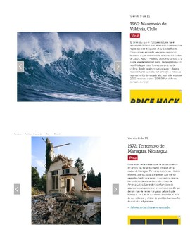 Authentic Resources (Spanish) - Natural Disasters/Extreme Weather