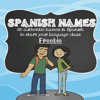 Authentic Spanish Names