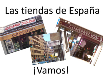 Authentic Spanish Photos PowerPoint Bundle