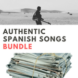 Authentic Spanish Song Activities BUNDLE
