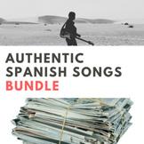 Authentic Spanish Song Activities BUNDLE
