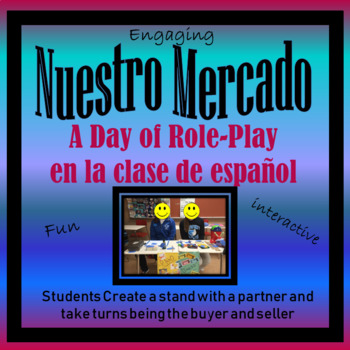 En El Mercado- Authentic Speaking Activity Role-Play - Clothing/Store Unit