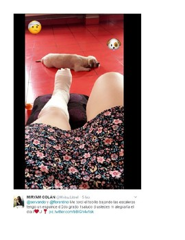 Authentic Tweets (Spanish) - Accidents/Injuries