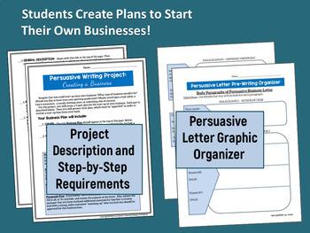 PERSUASIVE WRITING PROJECT - Common Core Grades 6-7-8