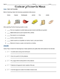 Authentic listening and infographic reading: La comida, food